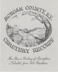 Morgan County Cemetery Records book cover