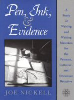 Pen Ink and Evidence