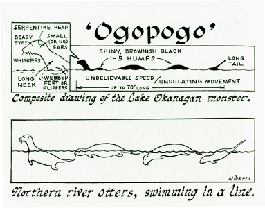 Ogopogo drawing