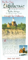Big Bay Point Lighthouse brochure