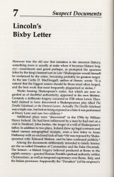 Bixby Letter Article