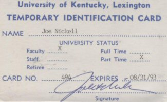 U of Kentucky ID